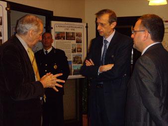 On. Piero Fassino in visita all' ANVGD